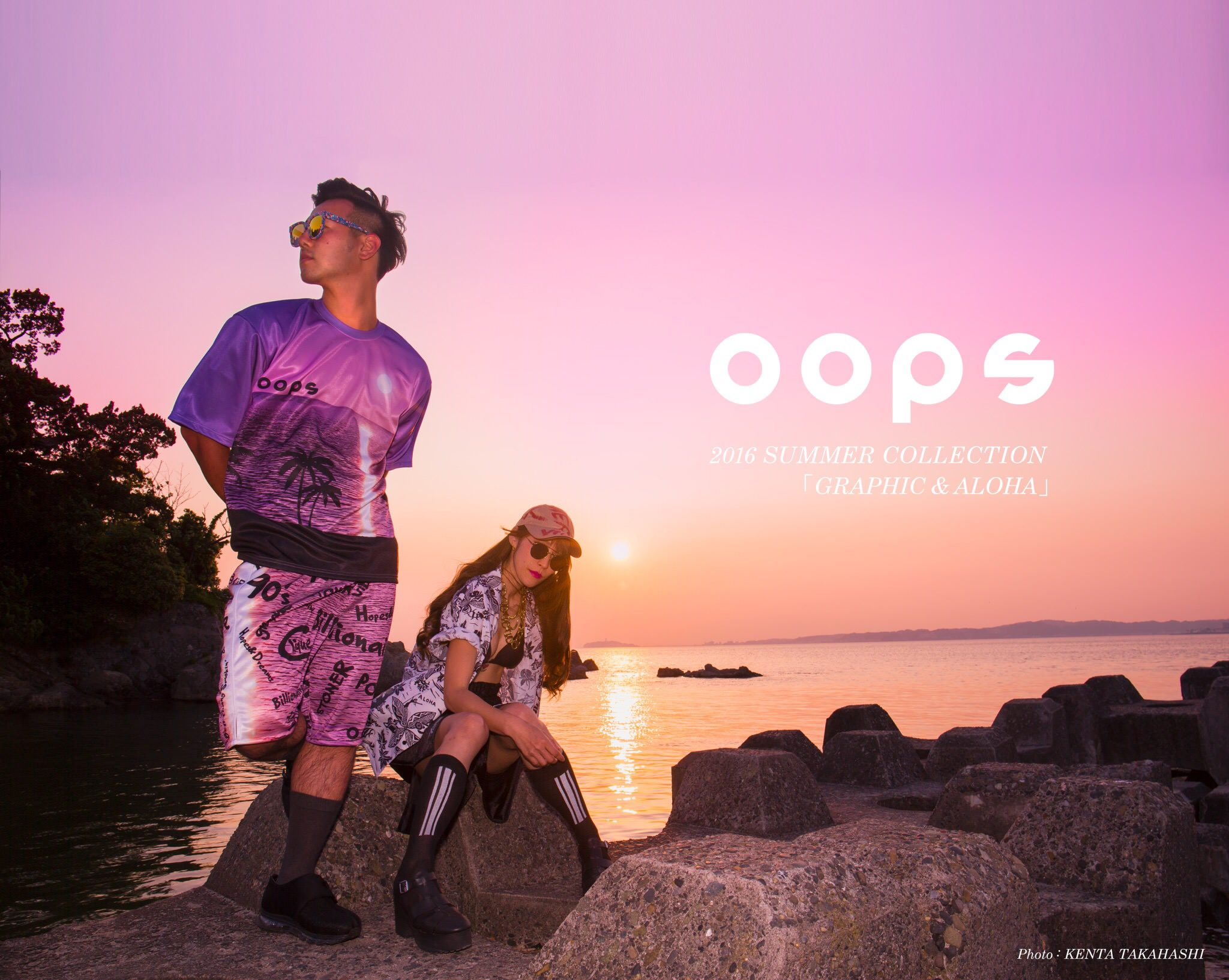 oops 2016 SUMMER COLLECTION 【GRAPHIC & ALOHA】