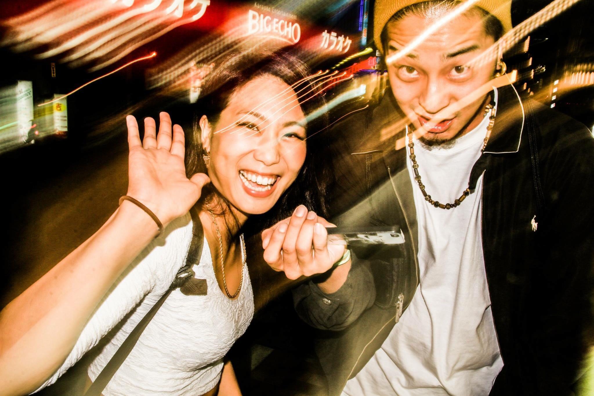 Sally&MTK IN TOKYO STREET ft.tkwfunkypop