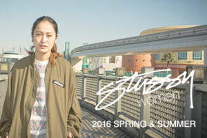 STUSSY women 2016 SPRING & SUMMER